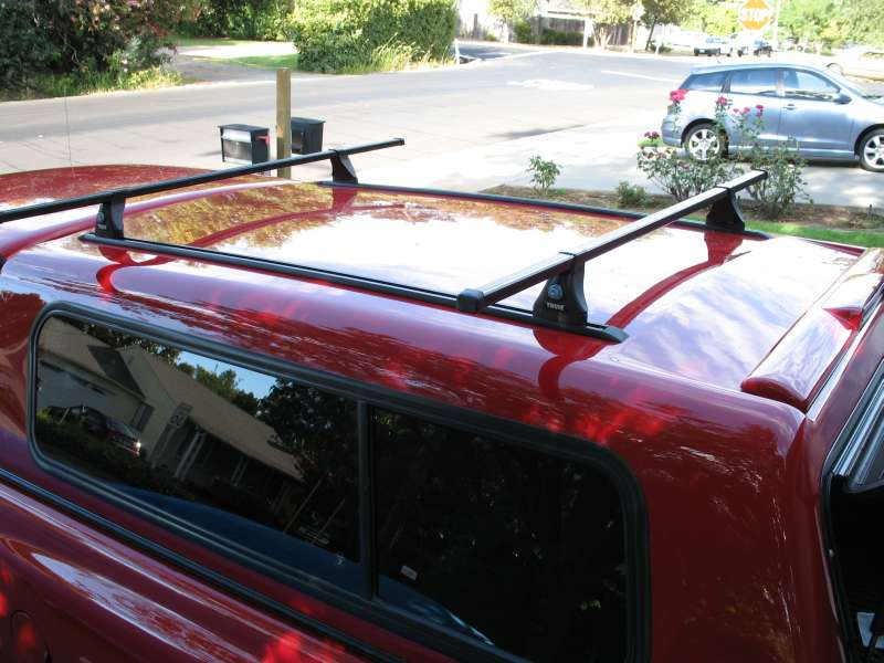 Roof Rack on my New Shell